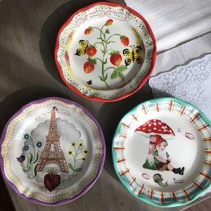 3 Nathalie Lete Plates